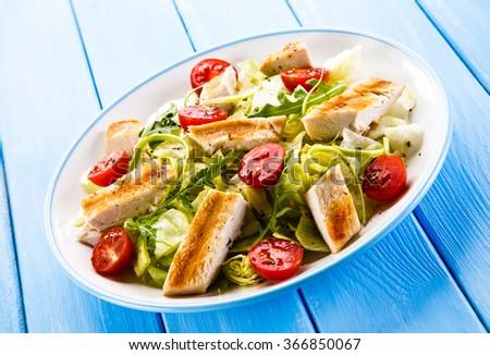 Caesar salad  - stock photo