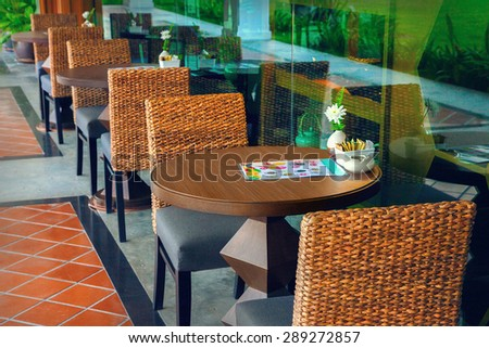 Cafe - stock photo
