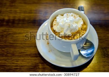 cafe mocha - stock photo