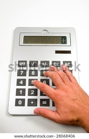 calculation - stock photo