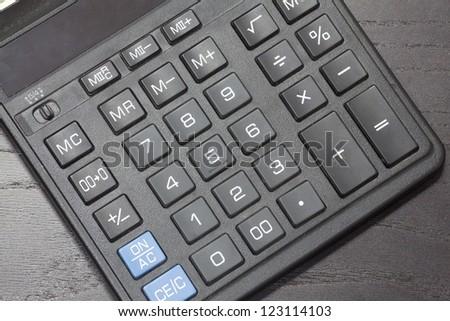 calculator , - stock photo
