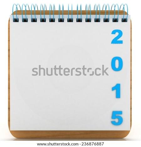calendar concept - stock photo
