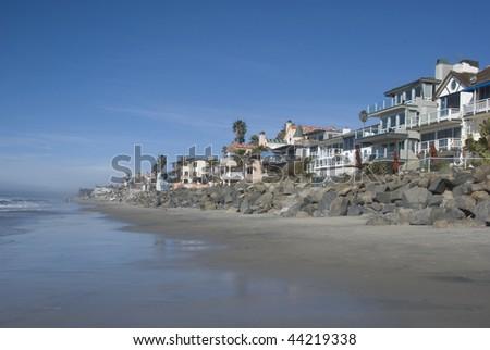 California homes - stock photo