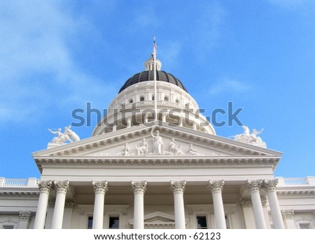 California State capitol - stock photo