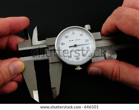 caliper - stock photo