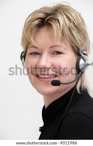 Call Center 2 - stock photo