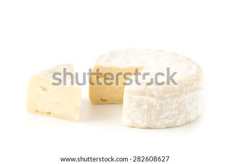Camembert cheese - stock photo