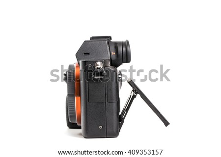 camera - stock photo