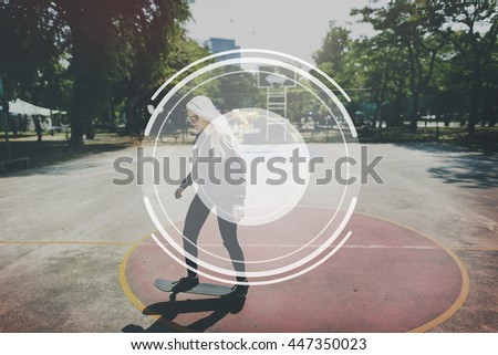 Camera Lens Image Photography Graphic Concept - stock photo