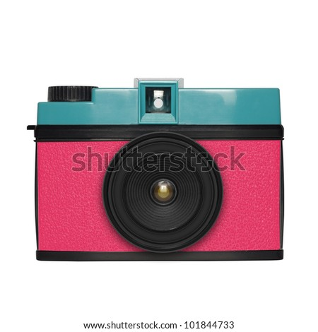 camera ,retro and vintage style ,graphic design - stock photo