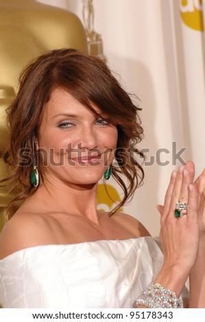 Cameron Diaz at the 79th Annual Academy Awards at the Kodak Theatre, Hollywood. February 26, 2007  Los Angeles, CA Picture: Paul Smith / Featureflash - stock photo