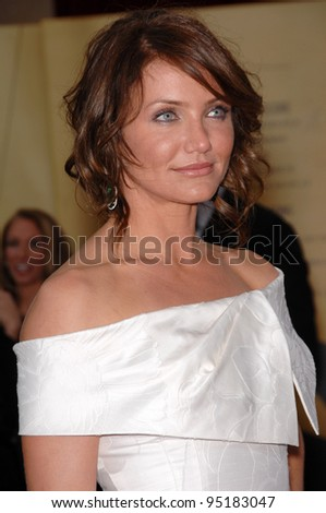 Cameron Diaz at the 79th Annual Academy Awards at the Kodak Theatre, Hollywood. February 25, 2007  Los Angeles, CA Picture: Paul Smith / Featureflash - stock photo