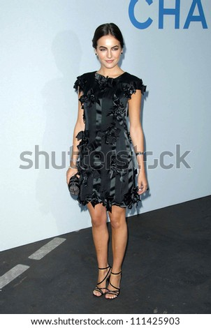 Camilla Belle  at the 2007/2008 Chanel Cruise Show Presented by Karl Lagerfeld. Hanger 8, Santa Monica, CA. 05-18-07 - stock photo