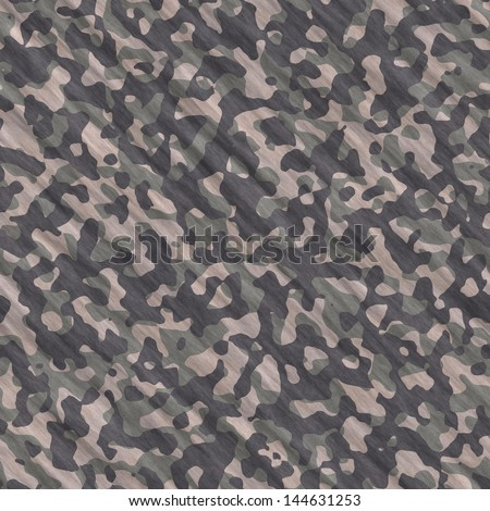 Camouflage seamless texture - stock photo