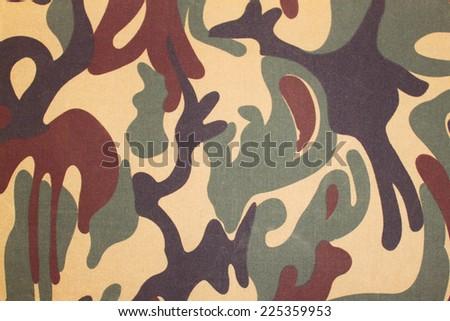Camouflage texture - stock photo