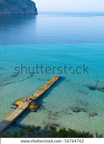 Camp de Mar Resort - stock photo