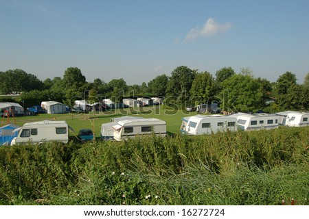 Camping life leisure activity - stock photo
