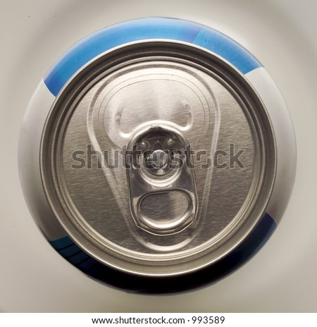 CAN OF BEER - stock photo