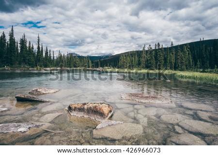 Canada Valley - stock photo
