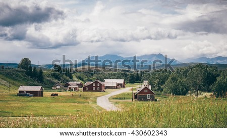 Canadian Ranch - stock photo