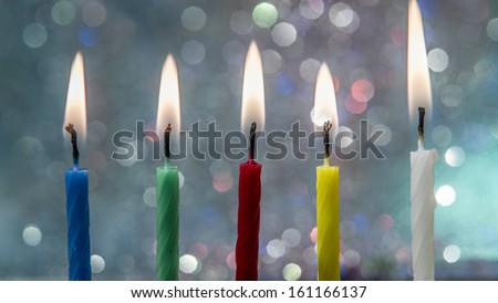 Candles - stock photo