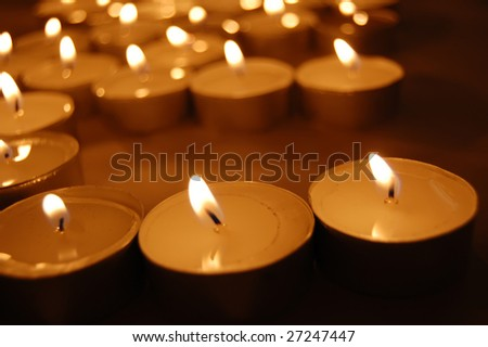 Candles 3 - stock photo