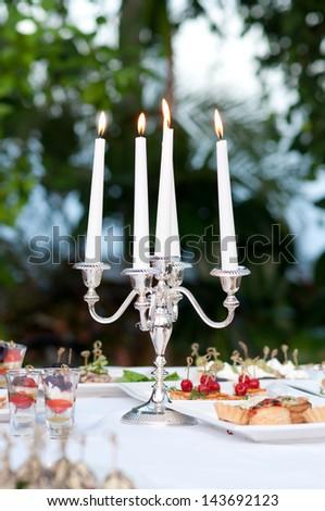 candlestick - stock photo