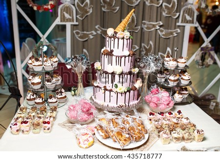 Candy bar. - stock photo
