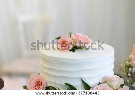 Candybar cake. Sweet cake. Homemade cake.  - stock photo