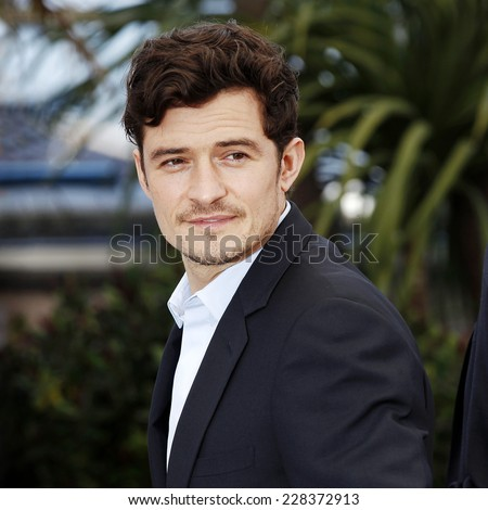 CANNES, FRANCE - MAY 26: Actor Orlando Bloom attends the 'Zulu' Photo-call during the 66th Cannes Film Festival on May 26, 2013 in Cannes, France. - stock photo