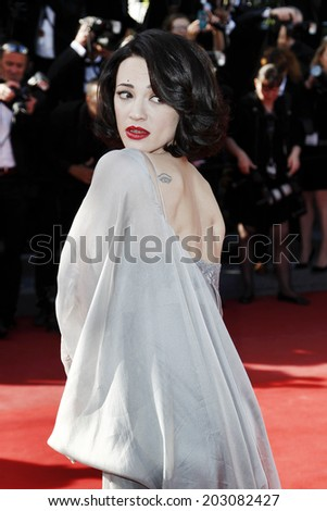 CANNES, FRANCE - MAY 26: Actress Asia Argento attends the Closing Ceremony during the 66th Cannes Film Festival on May 26, 2013 in Cannes, France. - stock photo