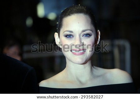 Cannes, France -  May 22, 2015: Actress Marion Cotillard attends the 'Little Prince' Premiere during the 68th annual Cannes Film Festival on May 22, 2015 in Cannes, France. - stock photo