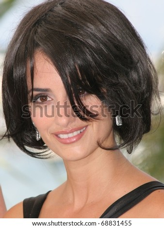 CANNES, FRANCE - MAY 21: Actress Penelope Cruz attends a photocall promoting the film 'Chromophobia' at the Palais during the 58th International Cannes Film Festival May 21, 2005 in Cannes, France - stock photo