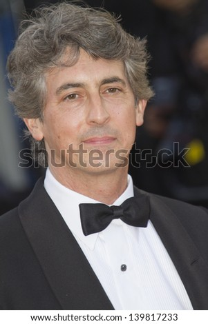 CANNES, FRANCE - MAY 23: Alexander Payne attends the 'Nebraska' premiere during The 66th Cannes Film Festival at the Palais des Festival on May 23, 2013 in Cannes, France. - stock photo