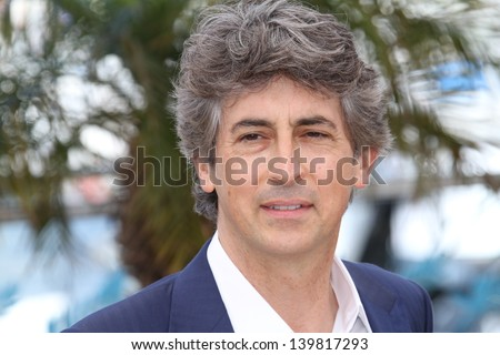 CANNES, FRANCE - MAY 23: Alexander Payne attends the Photocall for 'Nebraska' during The 66th Annual Cannes Film Festival at the Palais des Festival on May 23, 2013 in Cannes, France. - stock photo