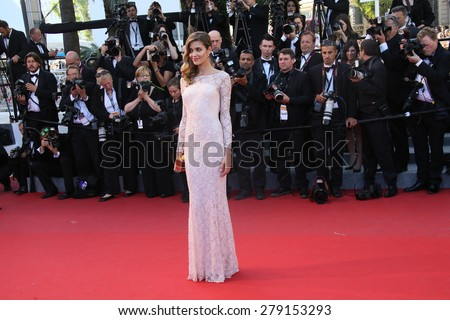 CANNES, FRANCE - MAY 18: Ana Beatriz Barros  attends the Premiere of 'Inside Out' during the 68th annual Cannes Film Festival on May 18, 2015 in Cannes, France. - stock photo