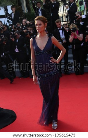 CANNES, FRANCE - MAY 23: Bianca Balti  attend the 'Clouds Of Sils Maria' premiere at the 67th Annual Cannes Film Festival on May 23, 2014 in Cannes, France. - stock photo