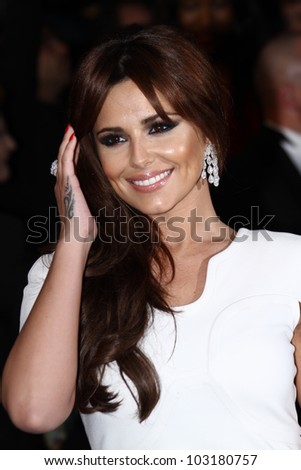 CANNES, FRANCE - MAY 20: Cheryl Cole attends the 'Amour' premiere during the 65th Annual Cannes Film Festival at Palais des Festivals on May 20, 2012 in Cannes, France. - stock photo
