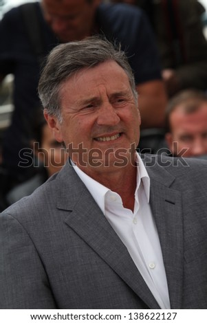 CANNES, FRANCE - MAY 15:  Daniel Auteuil attends the Jury Photocall during the 66th Annual Cannes Film Festival at the Palais des Festivals on May 15, 2013 in Cannes, France. - stock photo