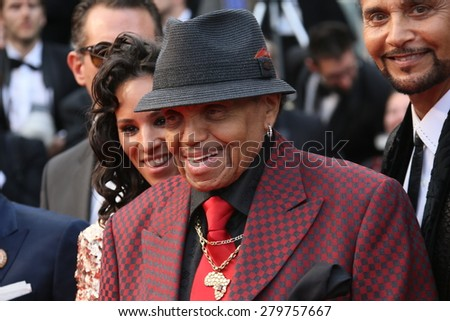 CANNES, FRANCE - MAY 19: Joe Jackson attends the 'Sicario' premiere during the 68th annual Cannes Film Festival on May 19, 2015 in Cannes, France - stock photo