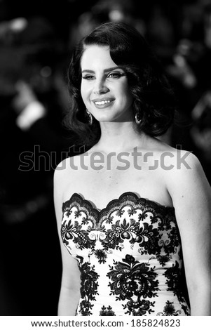 CANNES, FRANCE - MAY 15: Lana Del Rey at Opening Night of The 66th Cannes Film Festival on May 15, 2013 in Cannes, France - stock photo