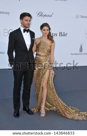 CANNES, FRANCE - MAY 23, 2013: Olivia Palermo at amfAR's 20th Cinema Against AIDS Gala at the Hotel du Cap d'Antibes, France  - stock photo
