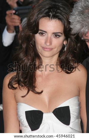 CANNES, FRANCE - MAY 24: Spanish actress Penelope Cruz attends the 'Marie Antoinette' premiere at the Palais des Festivals during the 59th  Cannes Film Festival May 24, 2006 in Cannes, France - stock photo
