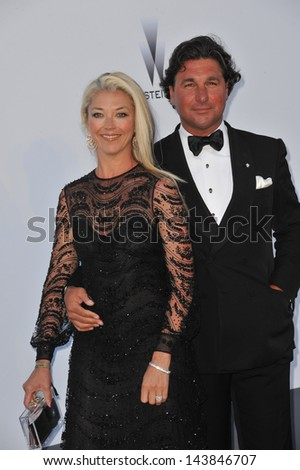 CANNES, FRANCE - MAY 23, 2013: Tamara Beckwith at amfAR's 20th Cinema Against AIDS Gala at the Hotel du Cap d'Antibes, France  - stock photo