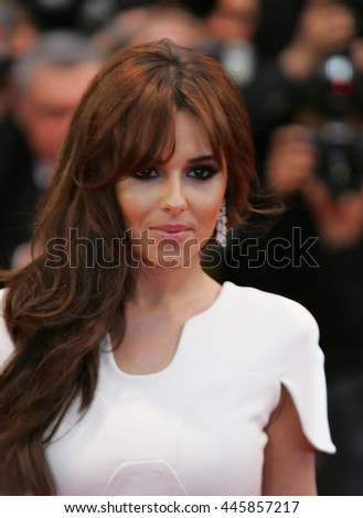 CANNES - MAY 20, 2012: Cheryl Cole attends the Amour Premiere during the 65th Annual Cannes Film Festival on May 20, 2012 in Cannes - stock photo