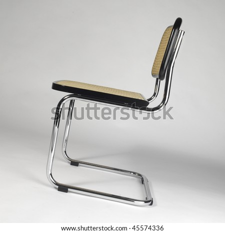 Cantilever Chair - stock photo