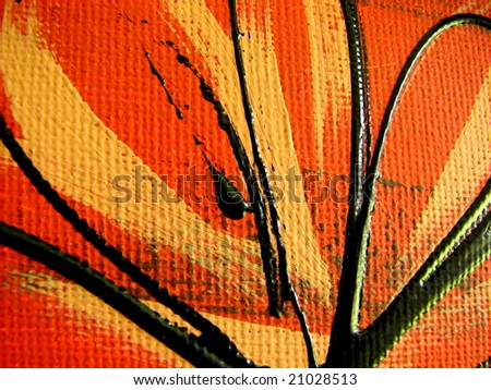 Canvas Art Background 1 - stock photo