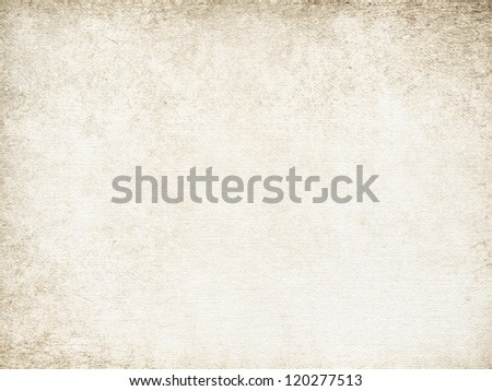 Canvas or paper background - stock photo