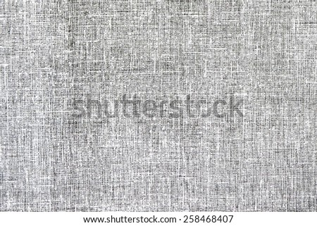 Canvas surface texture, top view - stock photo