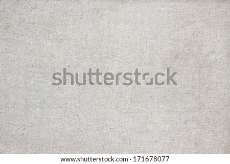 Canvas textile detailed texture background - stock photo